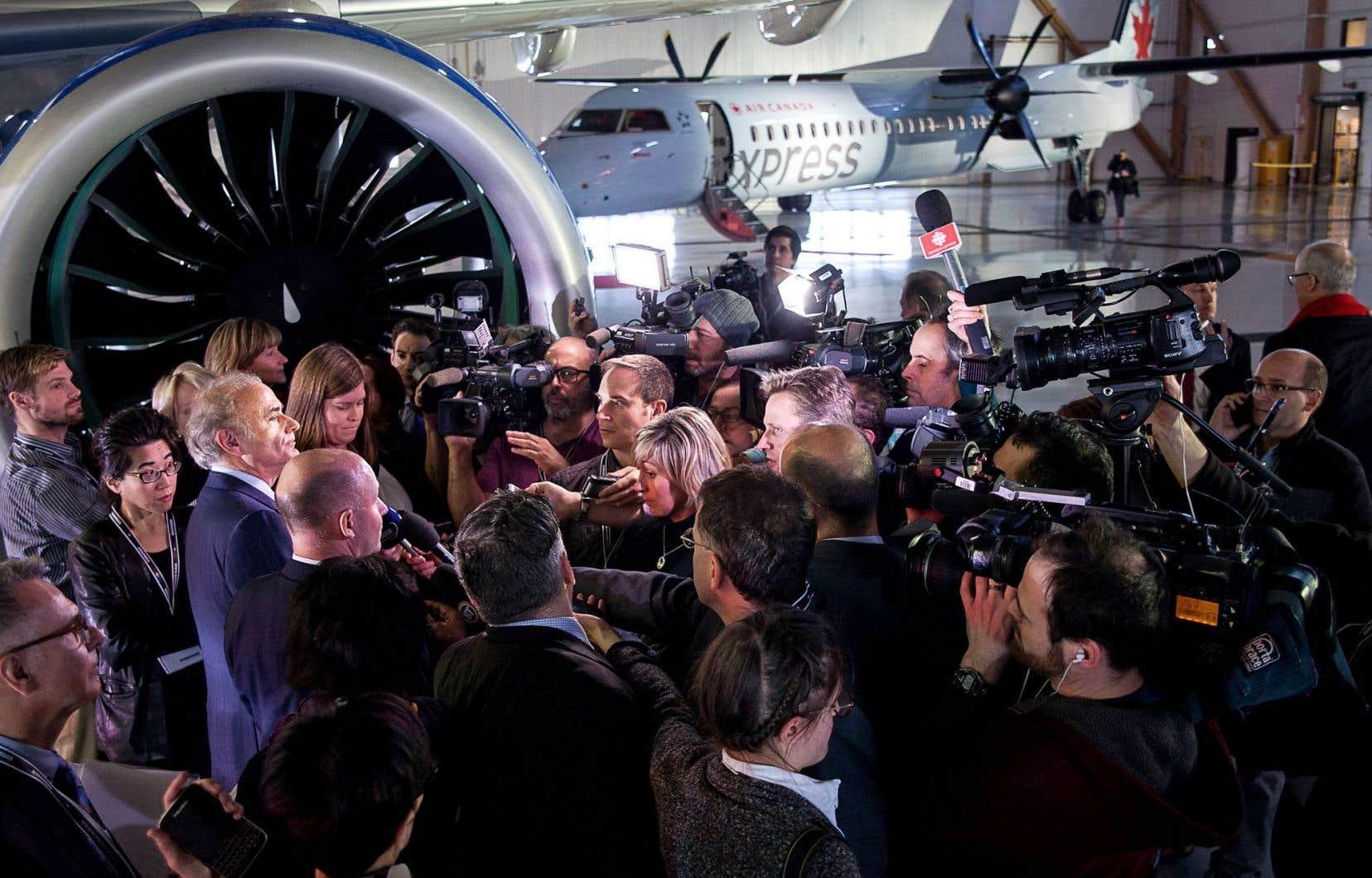 En annonçant qu'Air Canada ferait faire l'entretien de ses appareils de la CSeries à Montréal, son président et chef de la direction, Calin Rovinescu, a soulevé du mécontentement à Québec comme à Winnipeg.