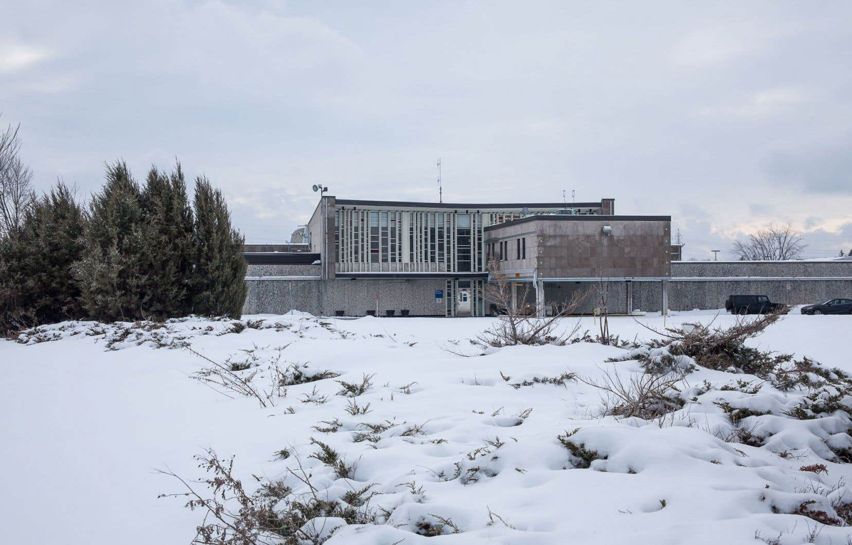 La prison Tanguay, à Montréal