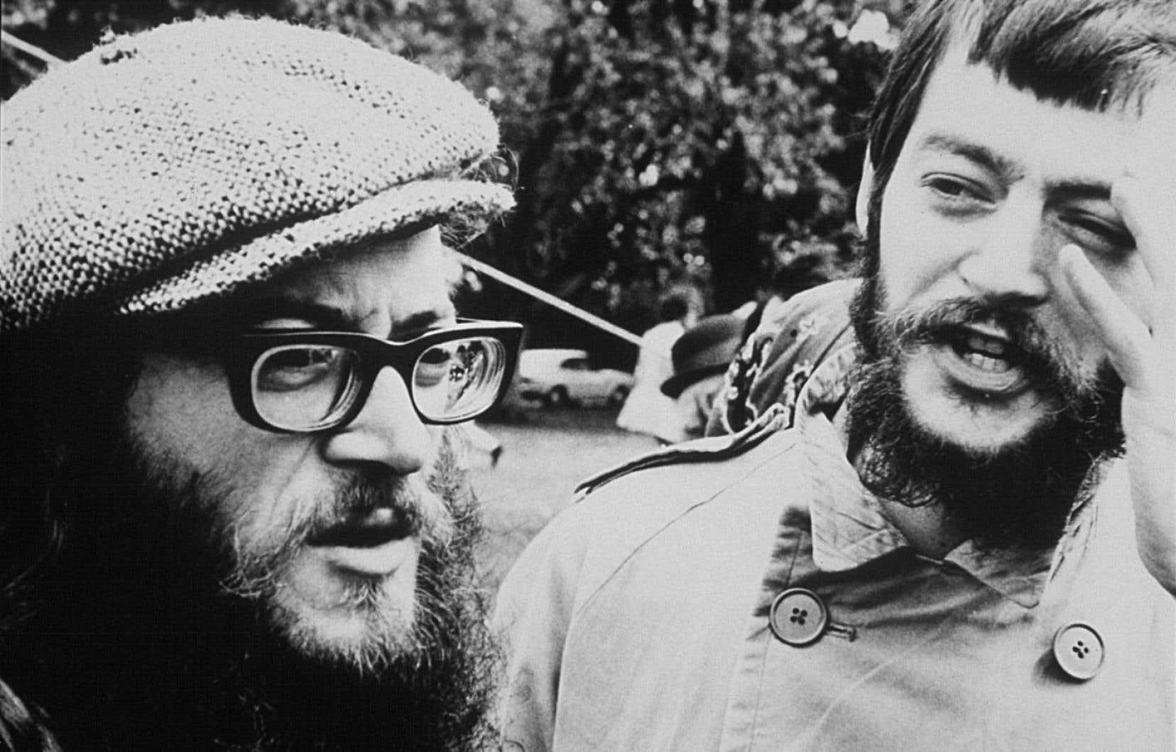 Raôul Duguay et Walter Boudreau ont formé Infonie, un groupe issu de la contre-culture.