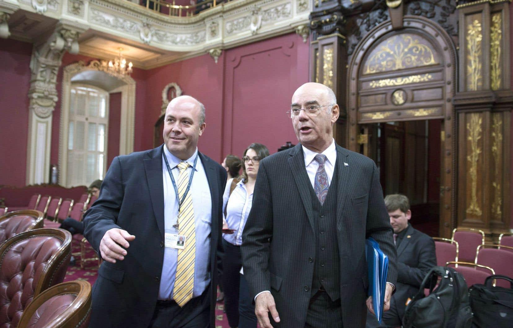 JacquesDaoust a exprimé l'espoir que le gouvernement n'ait pas à recourir à des pénalités excessives pour rétablir l'ordre.