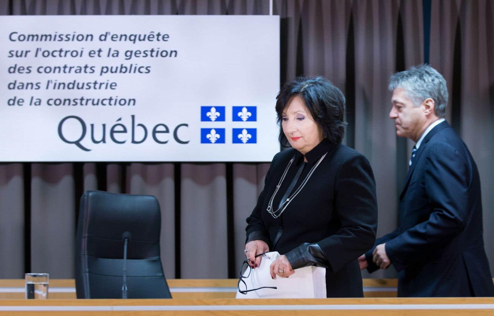 Le PQ avait affirmé que la dissidence exprimée par le commissaire Renaud Lachance nécessitait qu'il soit entendu, tout comme la présidente de la commission, France Charbonneau.