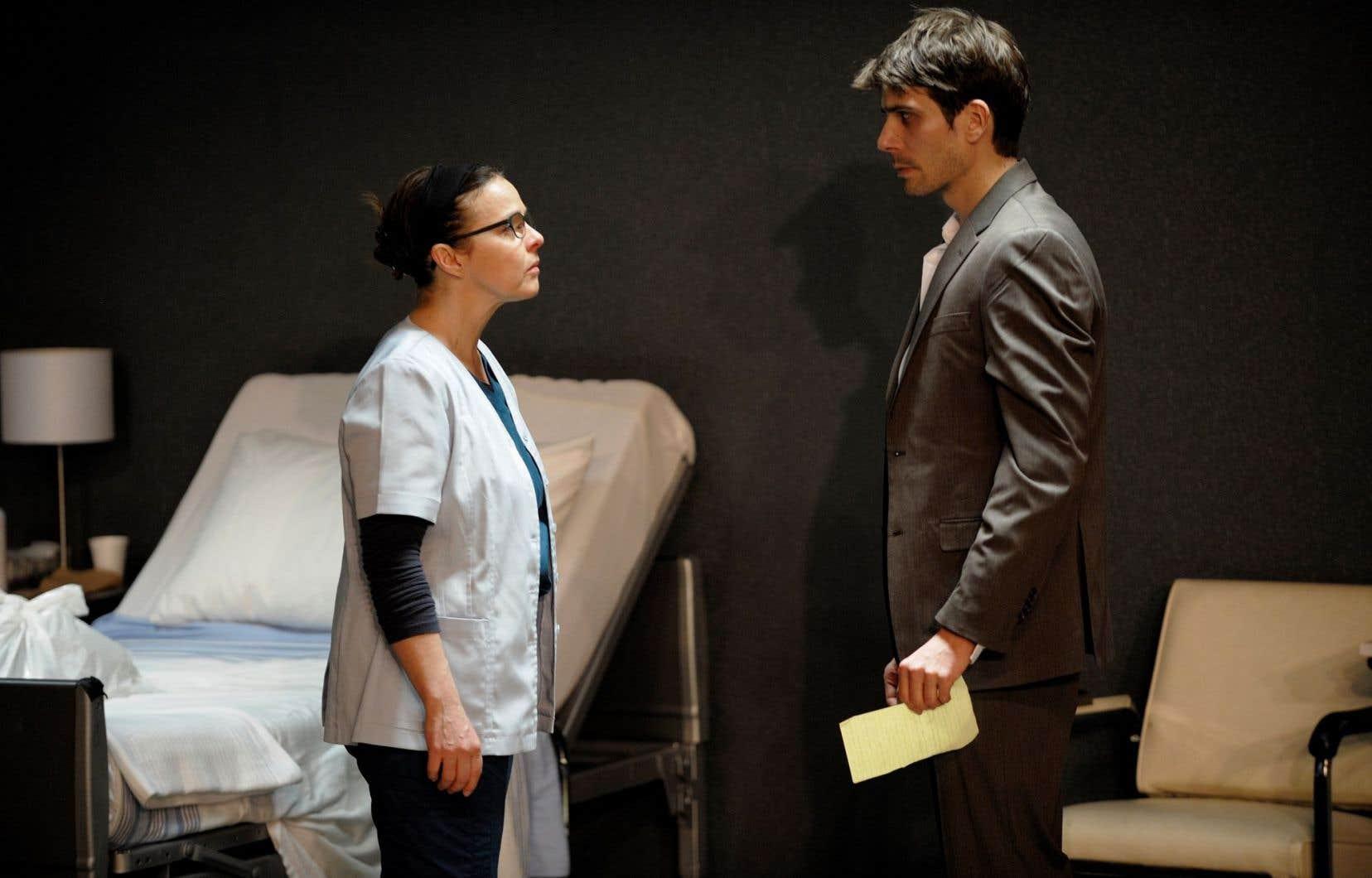 Maude Guérin et Étienne Pilon sont tout simplement poignants dans «Après», de Serge Boucher.