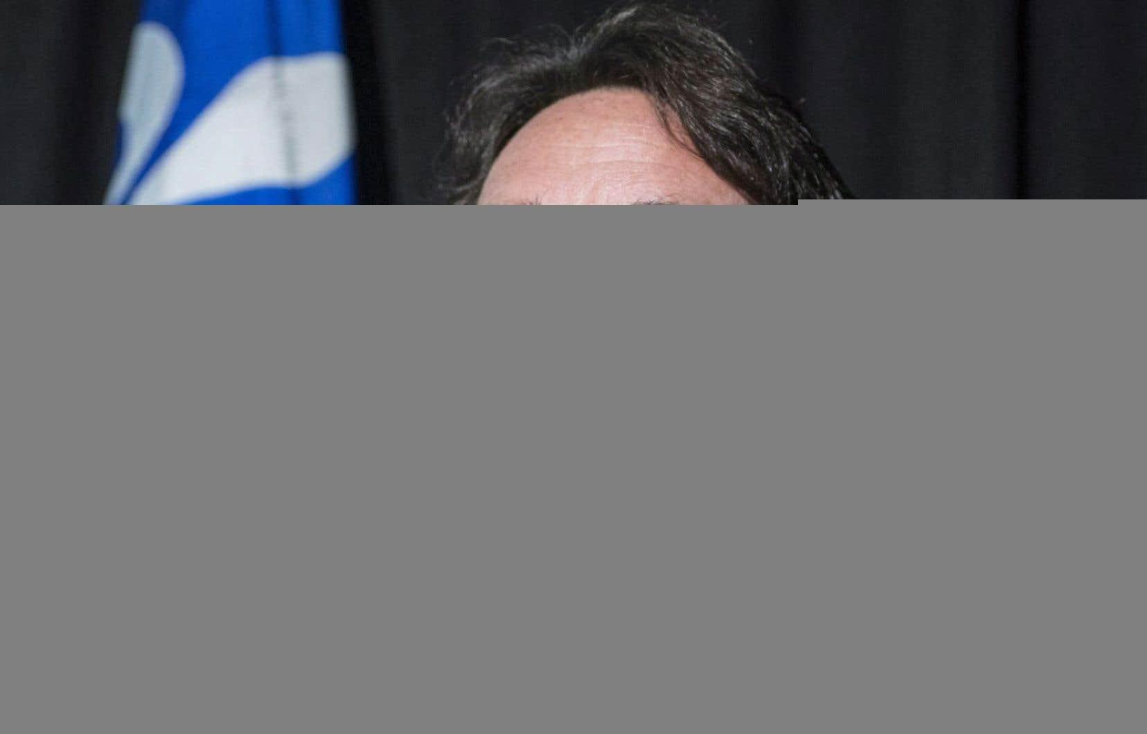 Le chef du Parti québécois, Pierre Karl Péladeau, a été élu à la tête du PQ avec 57,8 % des voix.