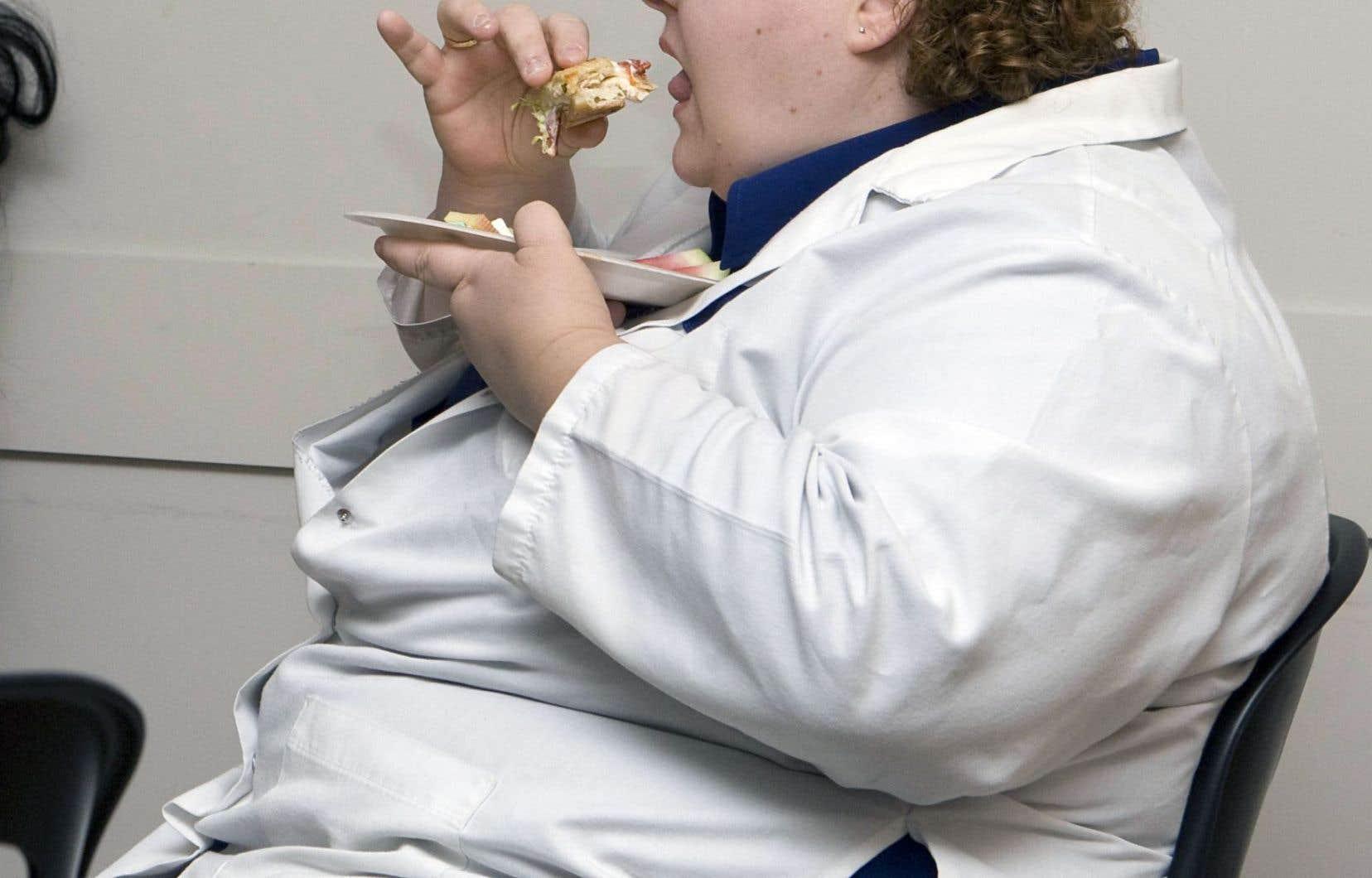 Le coût annuel en soins de santé et perte de productivité de l'obésité varie entre 4,6 milliards et 7,1 milliards de dollars.