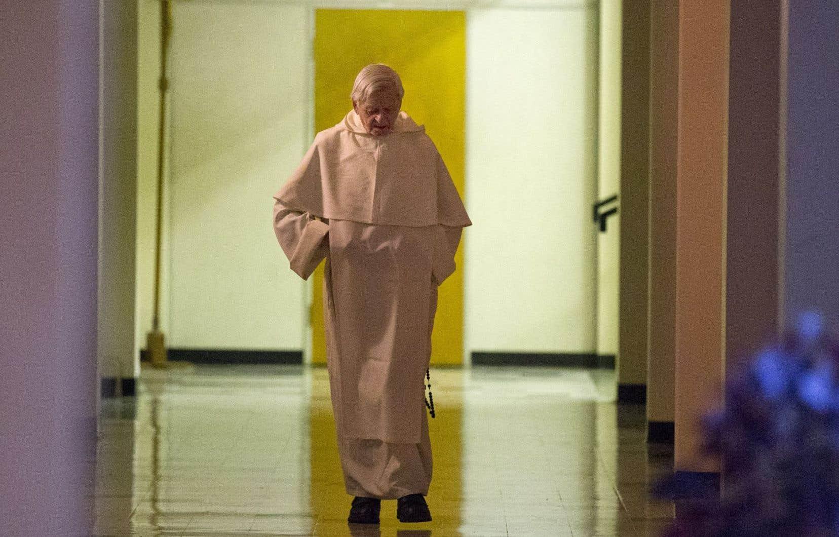 Demeuré actif jusqu'à la toute fin, le père Lacroix souffrait d'une pneumonie depuis quelque temps.