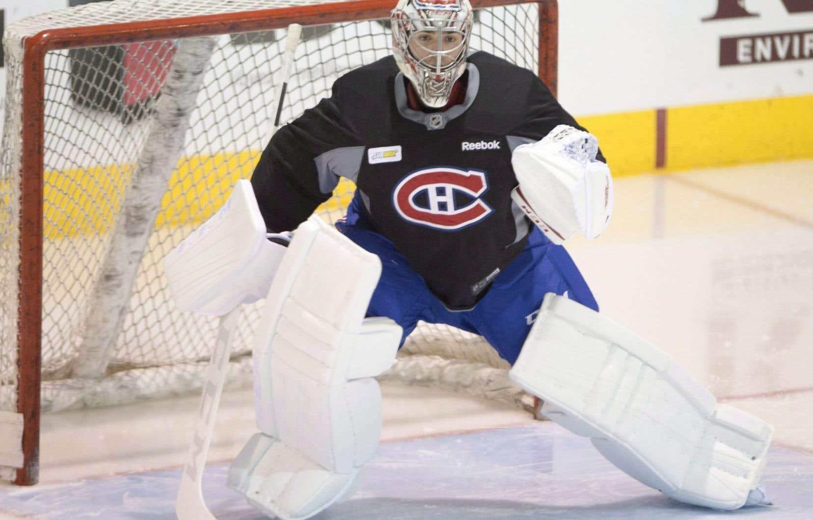 Blessé pendant une bonne partie de la saison, Carey Price a repris l'entraînement.