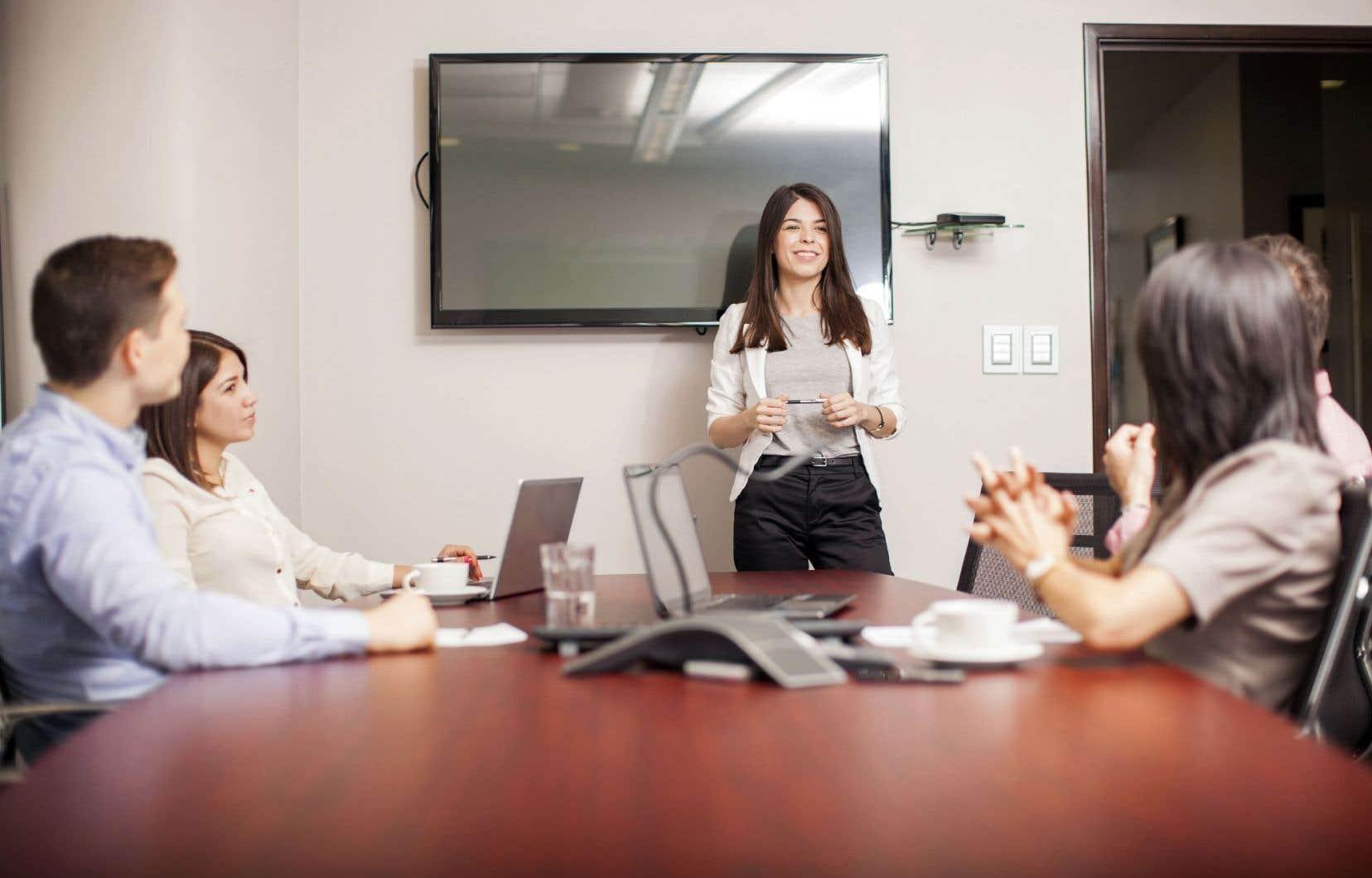 Une étude du Crédit Suisse sur plus de 3000 entreprises a évalué que les sociétés dont la capitalisation boursière dépassait les 10milliards $US et qui comptaient au moins une femme dans le conseil d'administration avaient enregistré une surperformance de 3,3% entre2005 et2014.