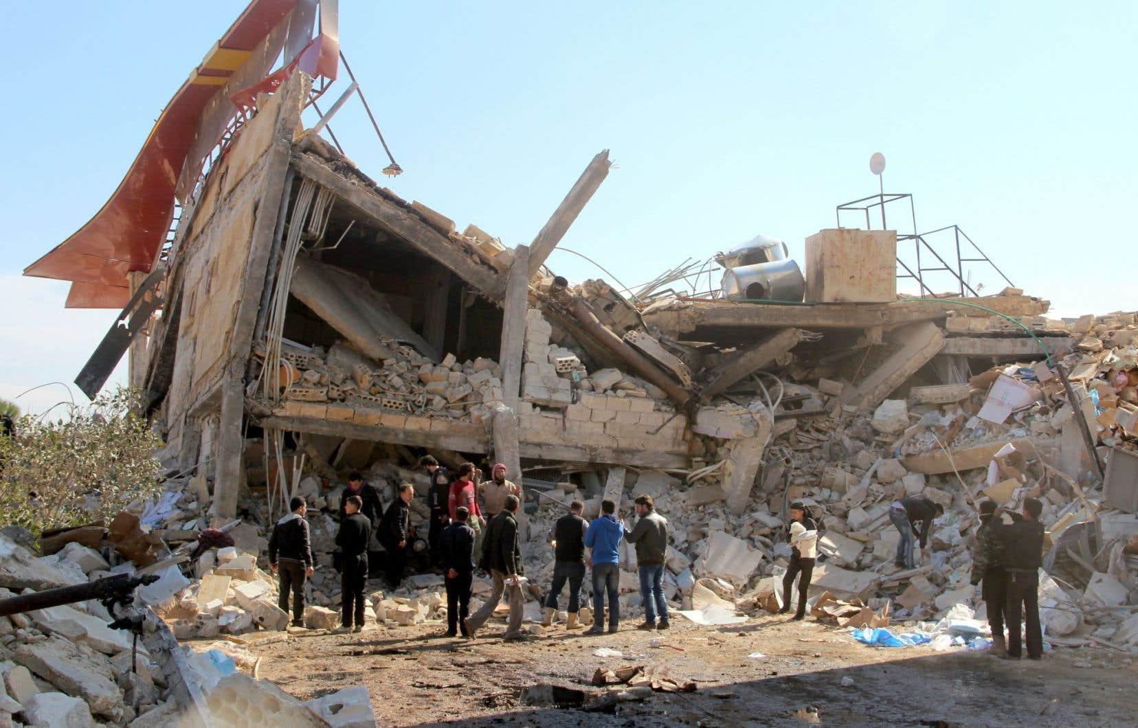 L'an dernier, 94 attaques en Syrie ont visé 63 hôpitaux et cliniques soutenus par Médecins sans frontières.