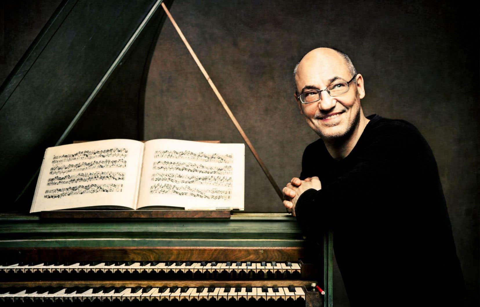Associer sonorité et répertoire est une quête d'idéal qui motive Andreas Staier.