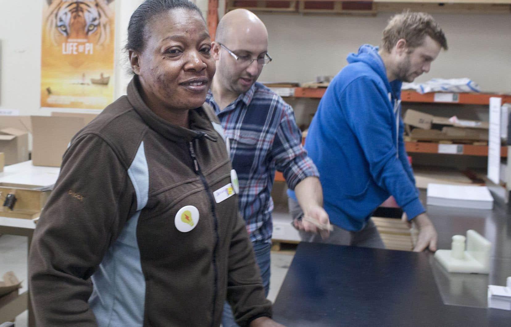 Offert depuis une vingtaine d'années dans Rosemont, le programme de réinsertion à l'emploi Imprime-Emploi est un tremplin vers le marché du travail.