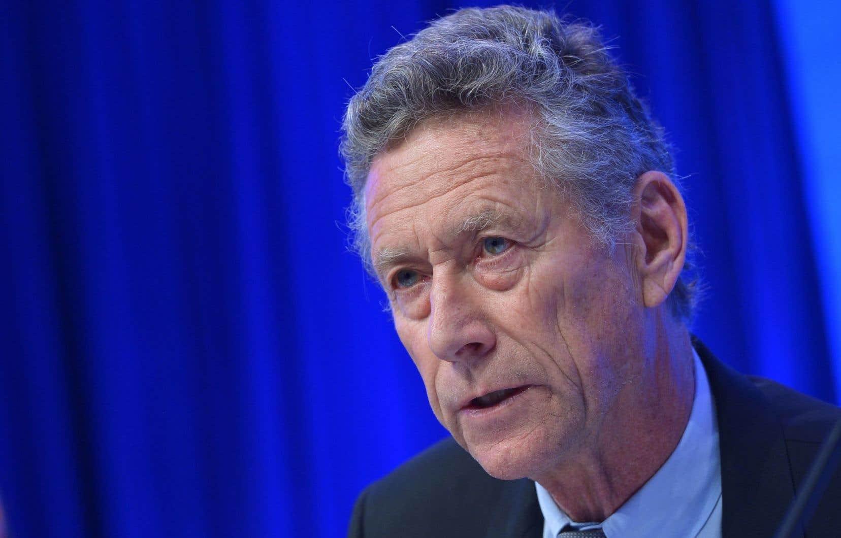L'ancien économiste en chef du Fonds monétaire international (FMI), Olivier Blanchard