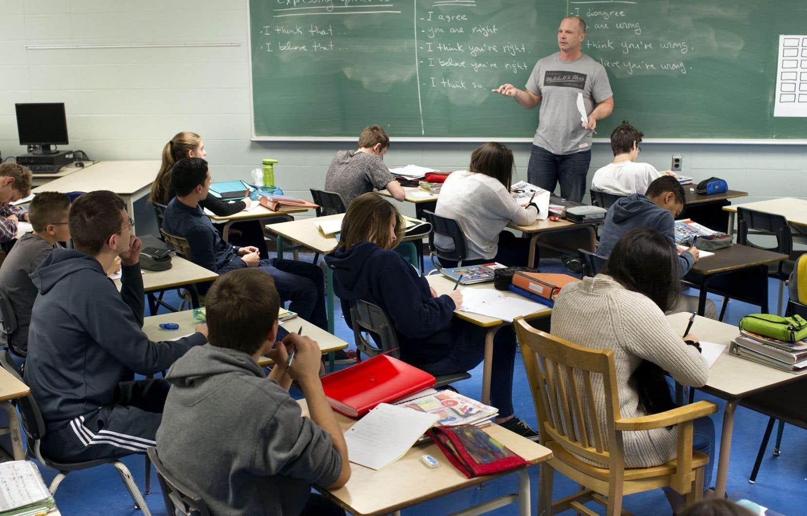 Des efforts ont été faits pour aider les écoles en milieu défavorisé depuis 50ans. «Mais ça n'a pas donné les effets escomptés», affirme Claude Lessard, ex-président du Conseil supérieur de l'éducation du Québec.
