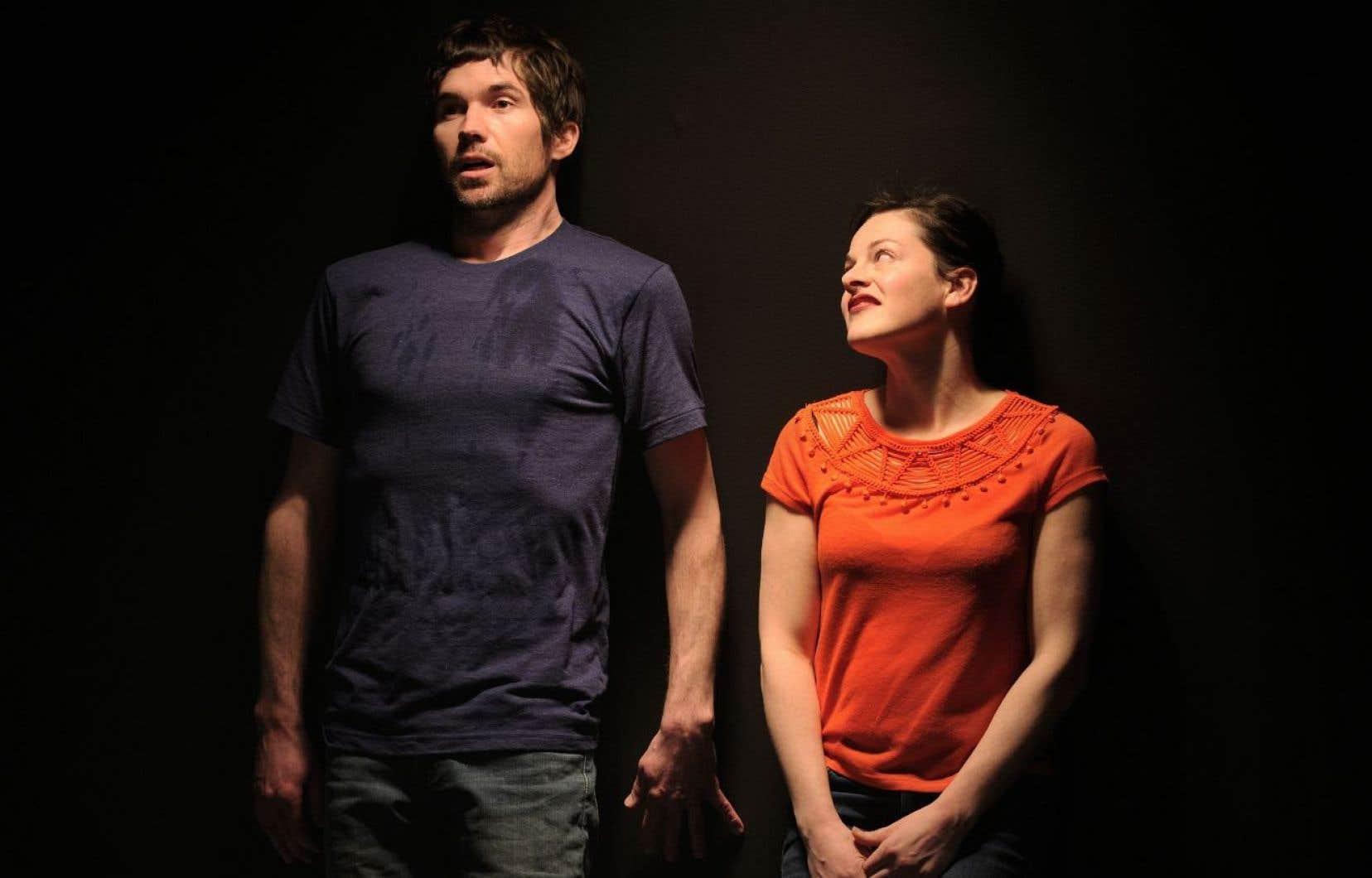Maxime Denommée et Sophie Cadieux mettent en mouvement un fascinant vertige de l'amour.