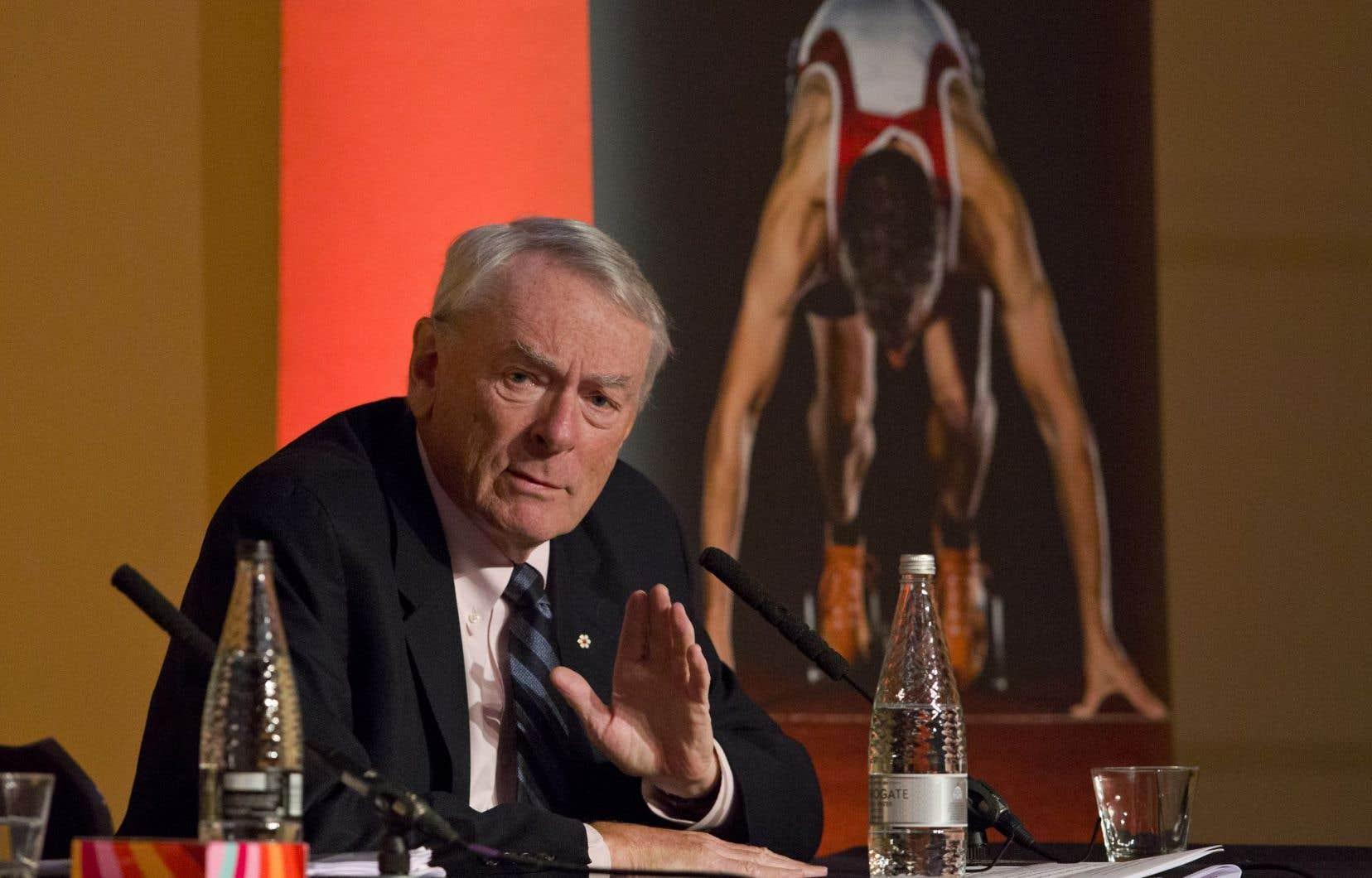Dick Pound met en doute la volonté de la Russie de réformer son programme antidopage.