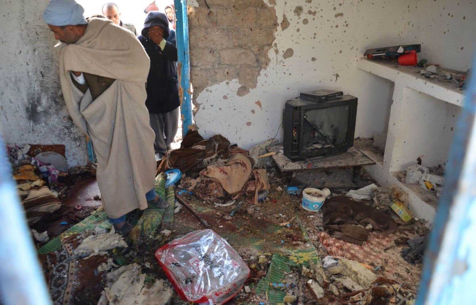 Des terroristes s'étaient cachés dans une maison de Ben Guerdane.