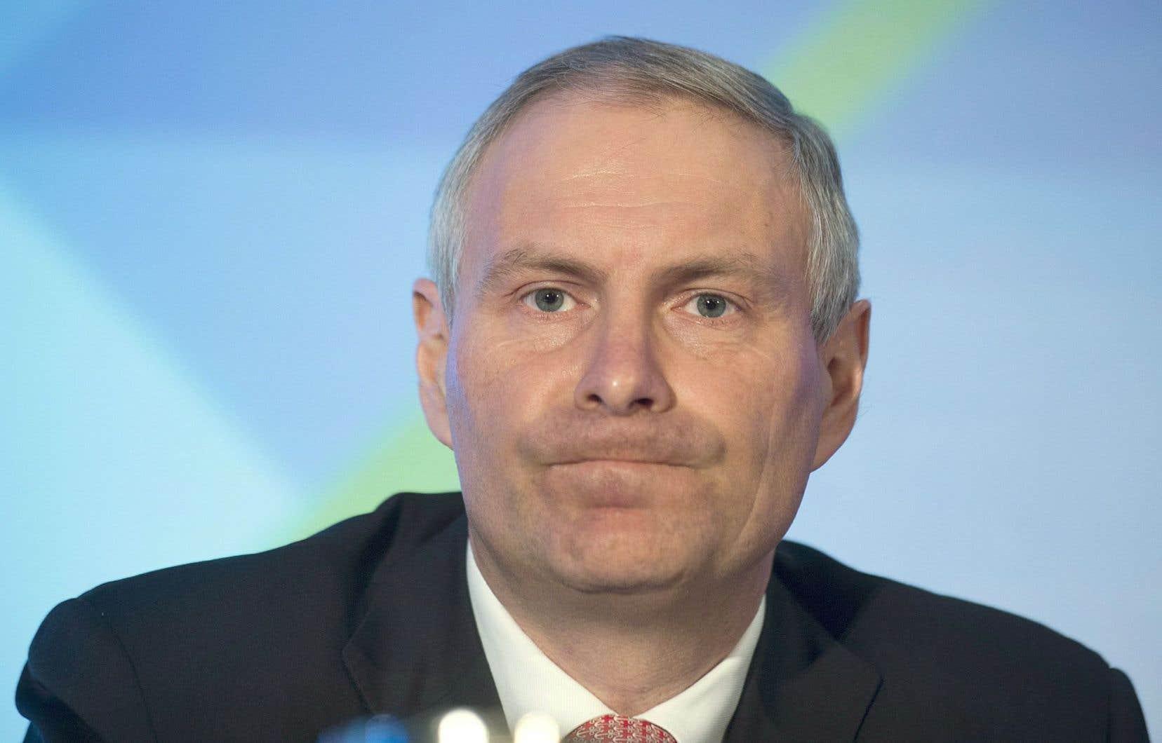 Le président et chef de la direction de TC Transcontinental, François Olivier