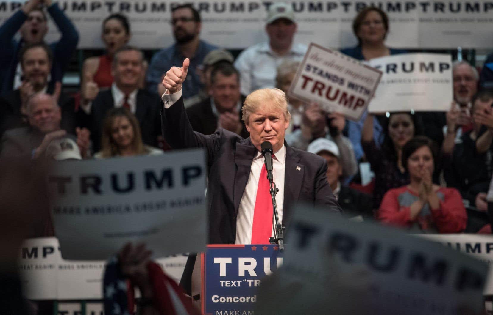 Donald Trump a gagné quinze des vingt-quatre caucus et primaires ayant eu lieu jusqu'ici.