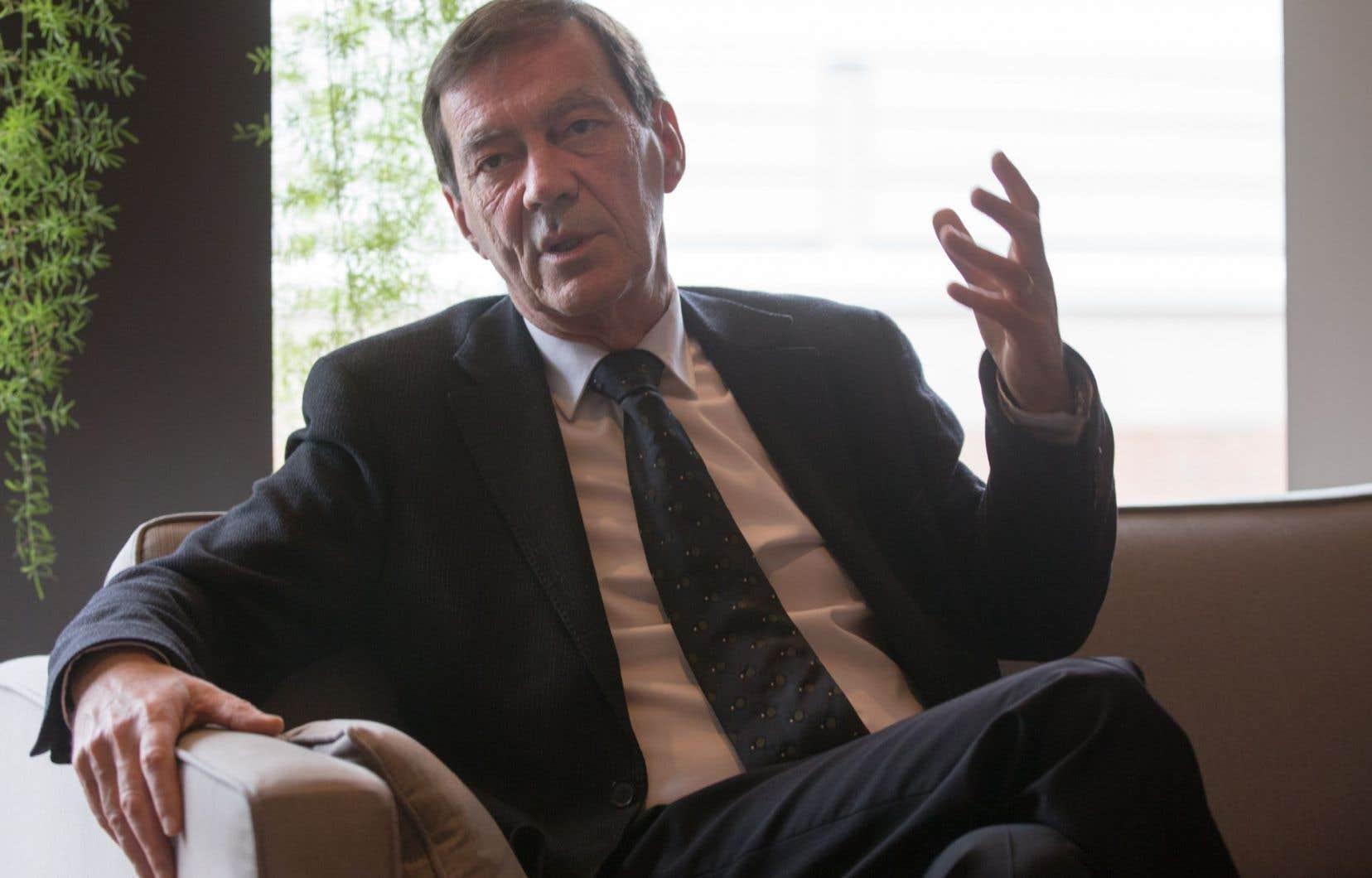 Le recteur de l'Université du Québec à Montréal, Robert Proulx