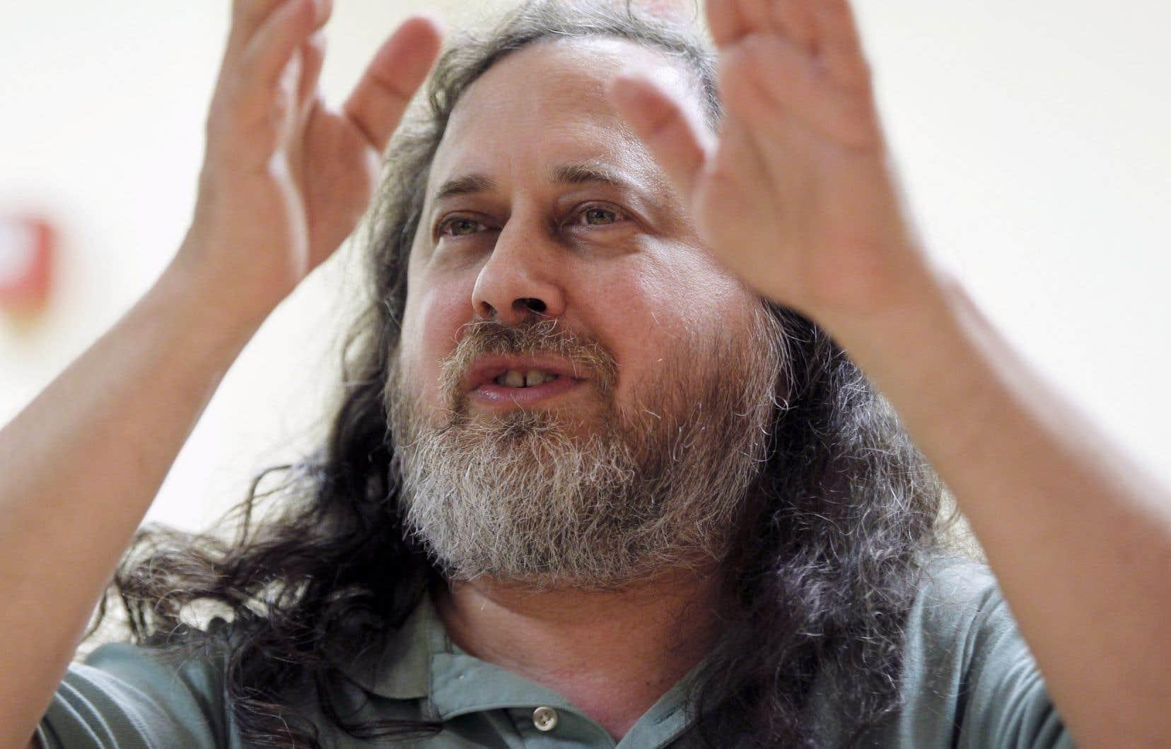 Richard Stallman a lancé le mouvement du logiciel libre... d'être utilisé, étudié, modifié et diffusé.