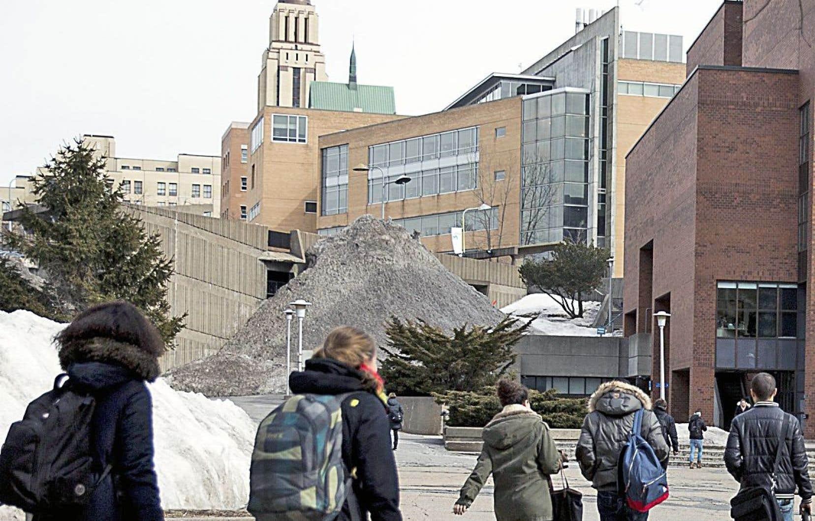 La campagne «Sans oui, c'est non!» a été conçue en 2014 par l'Université de Montréal, son Bureau d'intervention en matière de harcèlement et la Fédération des associations étudiantes du campus.