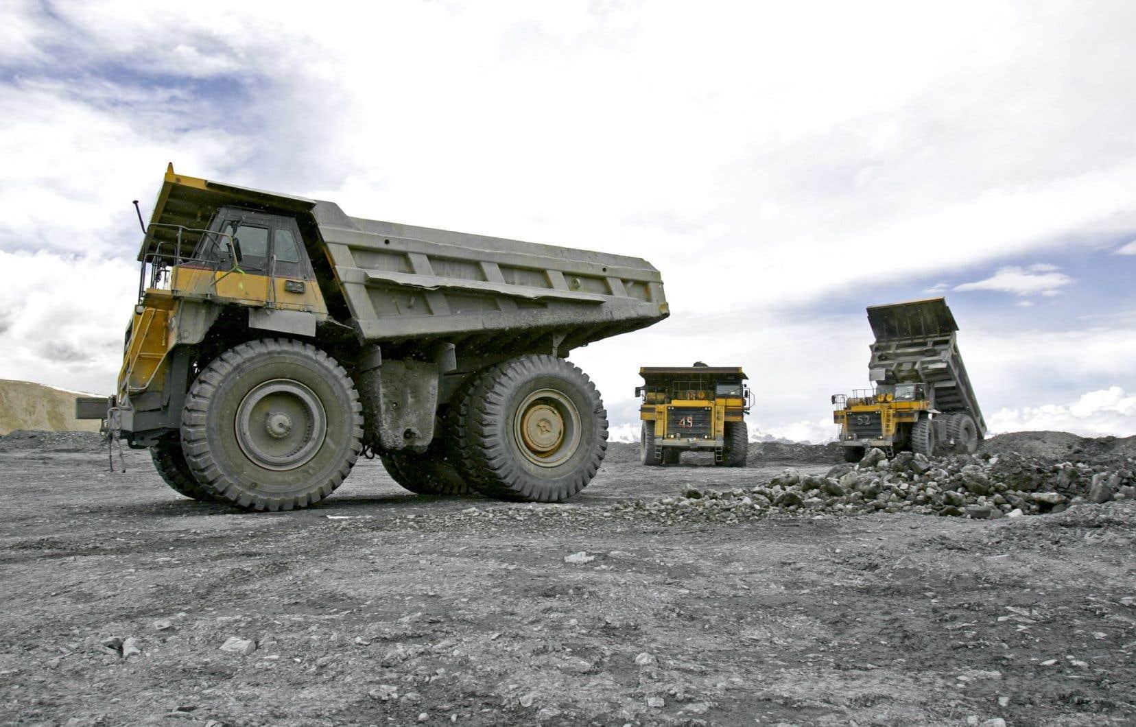 Le ministre délégué aux Mines, Luc Blanchette, a dévoilé mardi la Vision stratégique du développement minier au Québec à deux jours du budget Leitão.