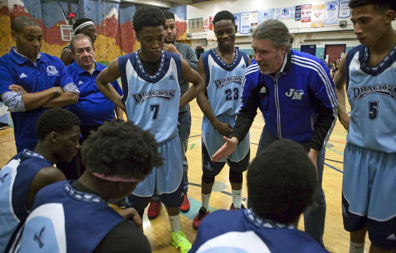 Le coach Martin et ses Dragons