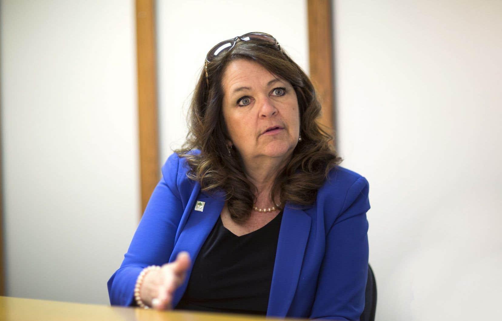 La présidente de l'Union des municipalités, Suzanne Roy