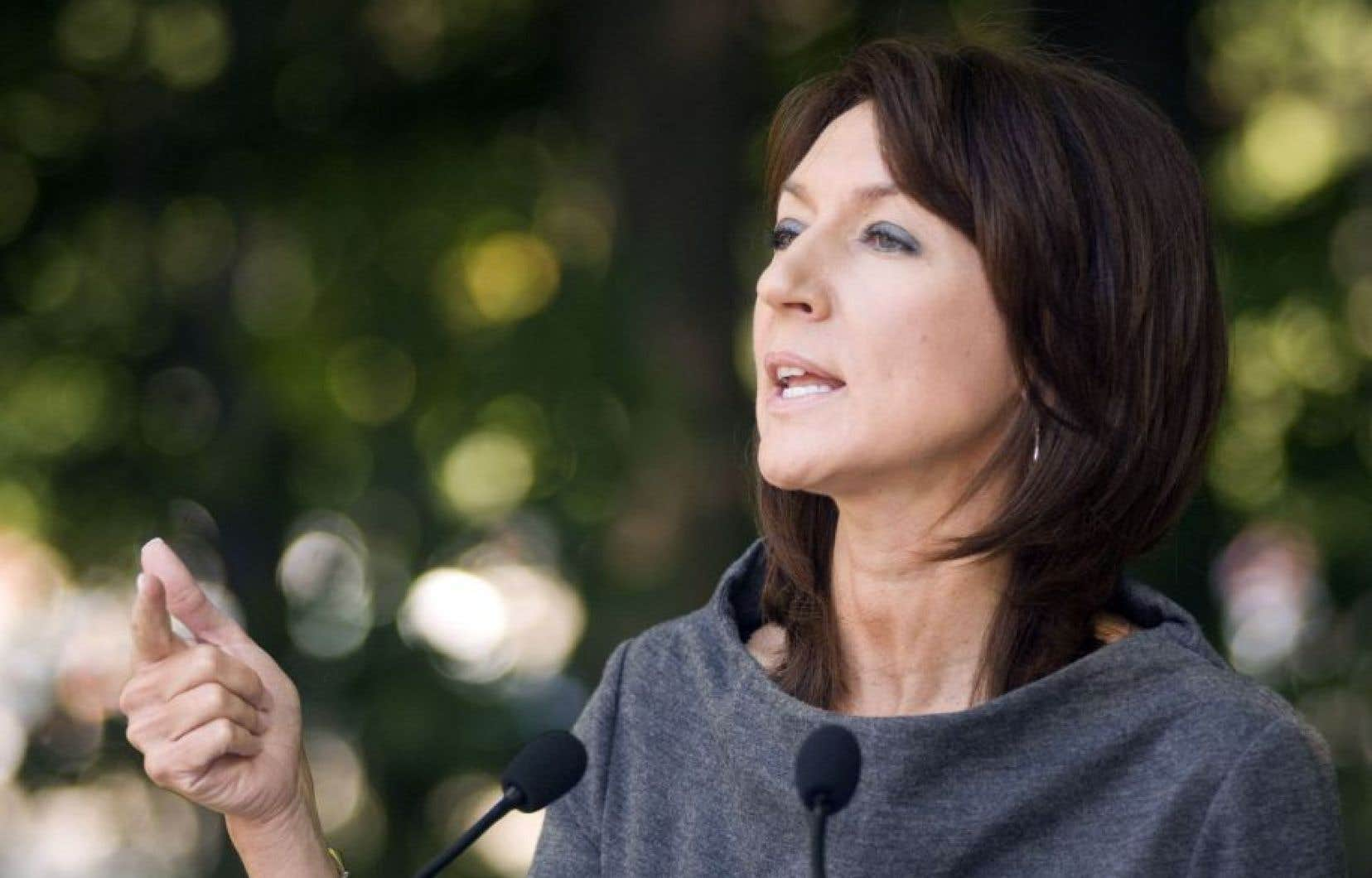 L'ex-ministre libérale Nathalie Normandeau est au nombre des personnes arrêtées jeudi matin par l'UPAC.