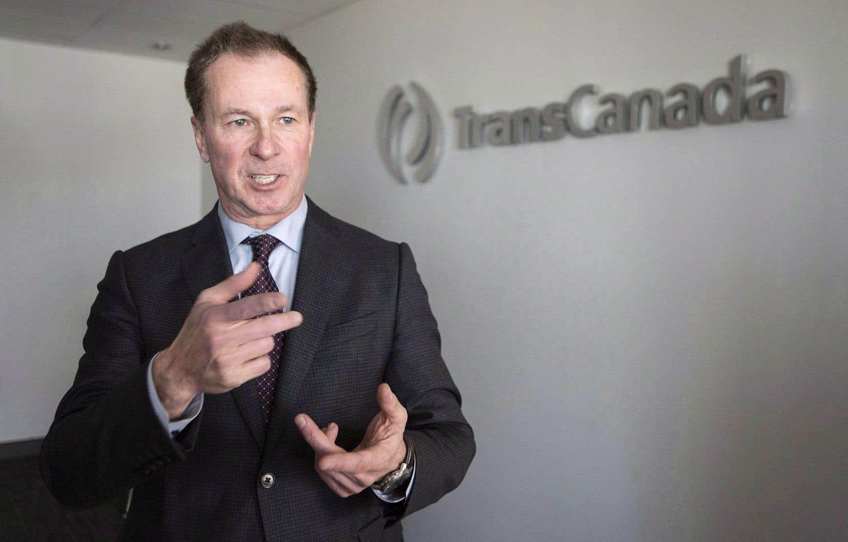 Le vice-président d'Énergie Est pour le Québec, Louis Bergeron