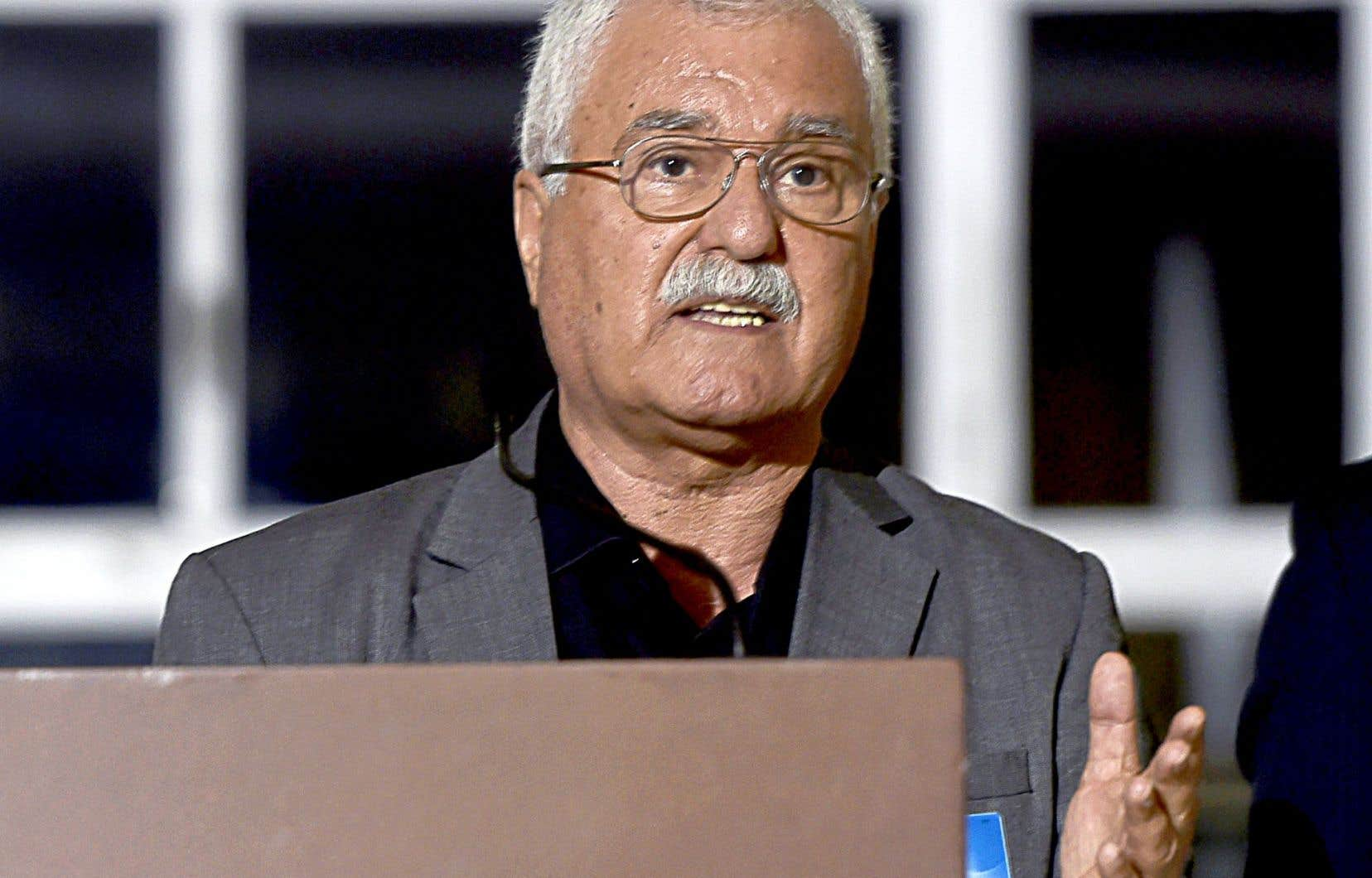 George Sabra, un des négociateurs de l'opposition syrienne