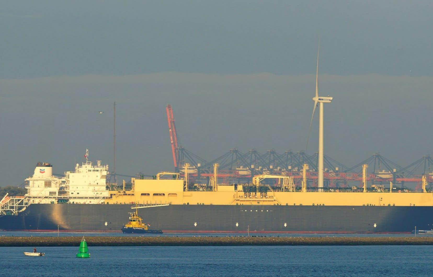 Les méthaniers transportant du gaz de schiste américain seront de plus en plus nombreux sur les mers du monde.