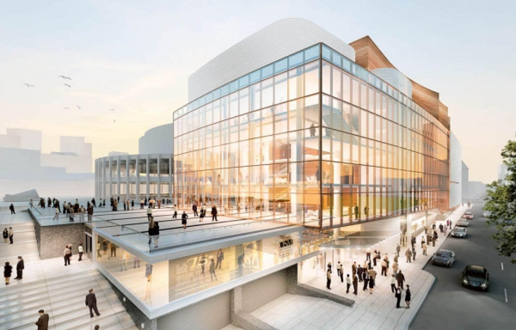 Grand Foyer Culturel De La Place Des Arts : Salles de concert ouvertes sur la ville le devoir