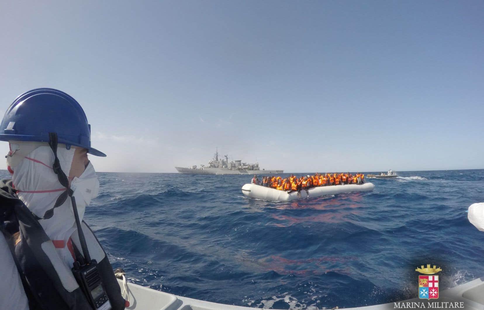 Après plusieurs semaines de calme relatif, plus de 3600 migrants ont été secourus depuis mardi et conduits en Italie.