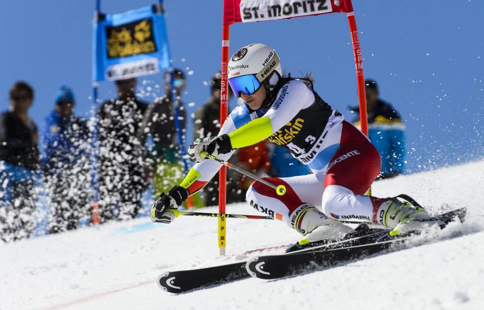 Wendy Holdener, de l'équipe suisse