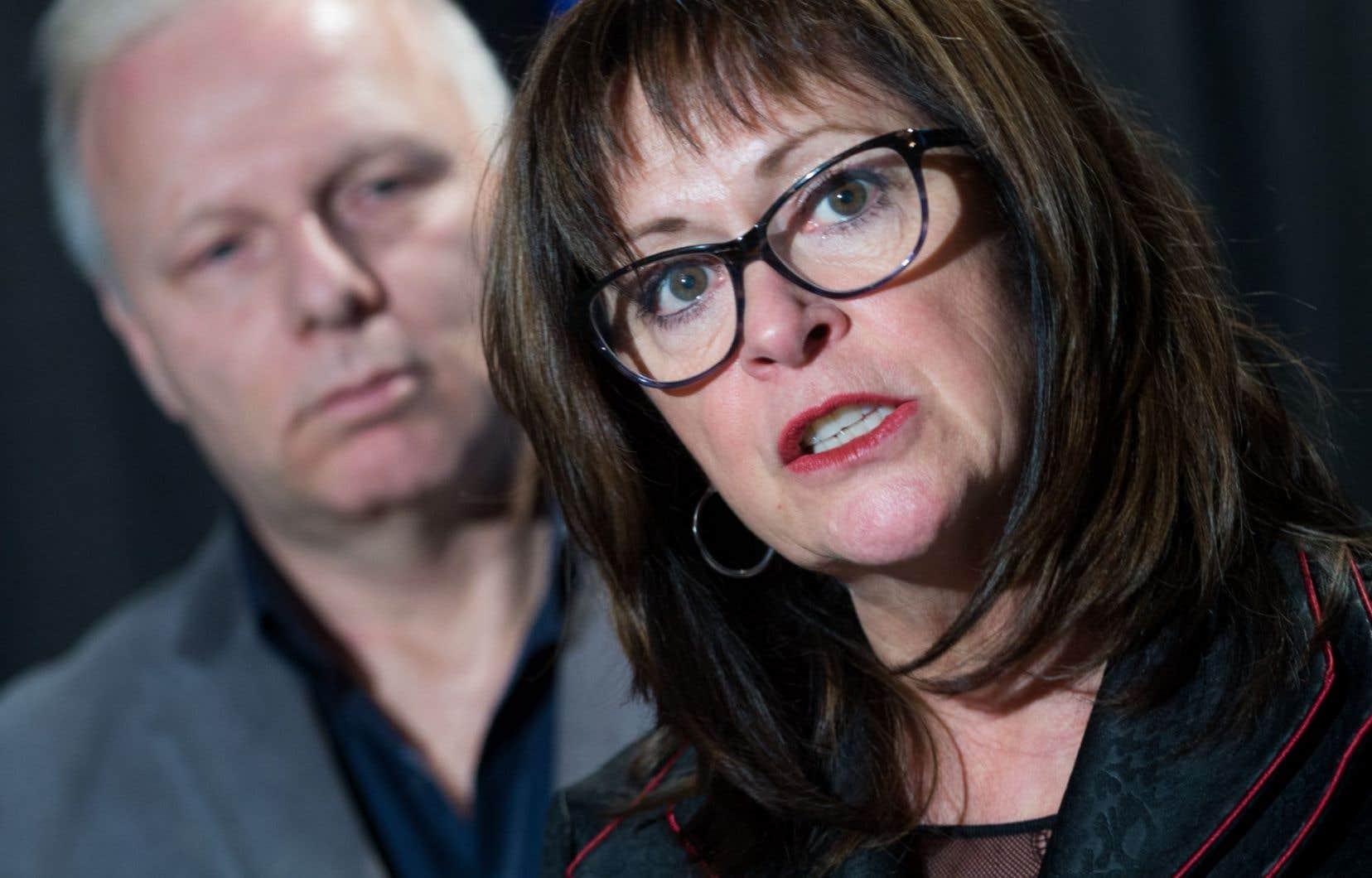 La présidente du conseil d'administration de Suicide Action Montréal, Suzanne Carrière