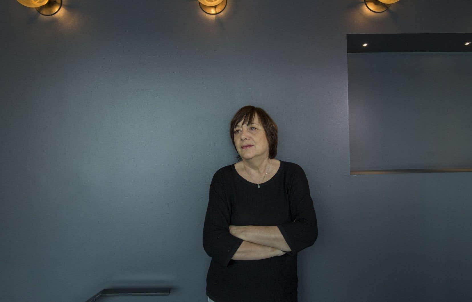 Pour Léa Pool, le grand défi dans le métier est de s'inscrire dans la durée, souvent en jouant d'alternance.