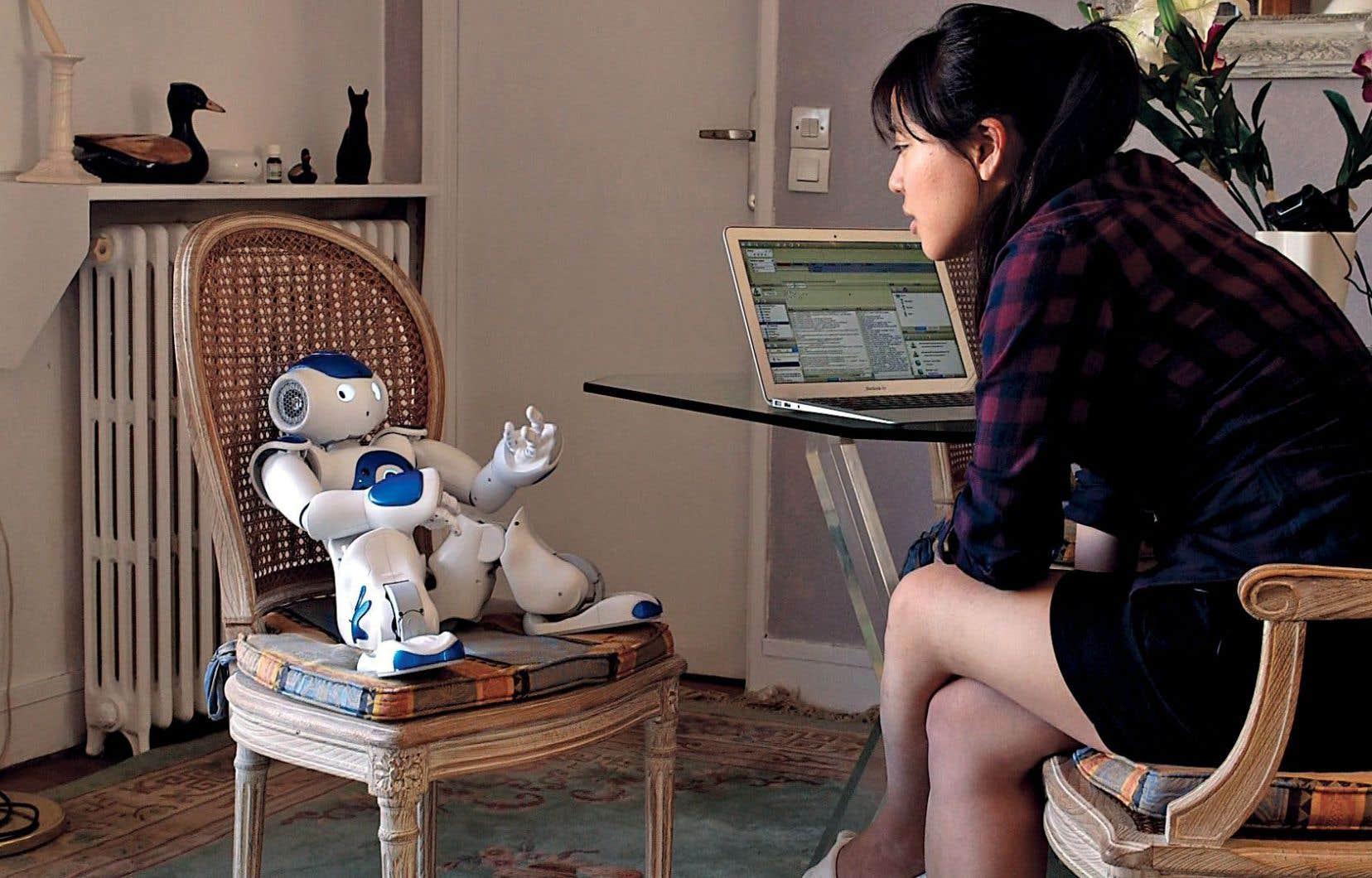 Le petit robot d'Angelica peut presque tout faire, pourvu qu'on lui télécharge de bonnes «applis».