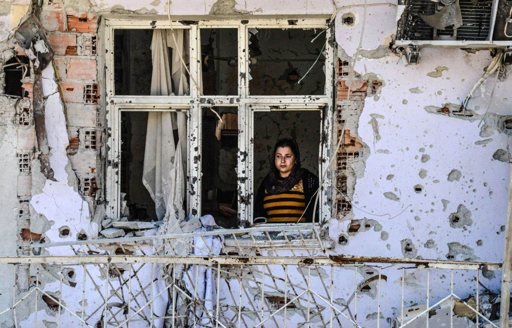 Des quartiers entiers de Cizre ont été anéantis à la suite des combats entre le Parti des travailleurs du Kurdistan (PKK) et les forces de sécurité turques.