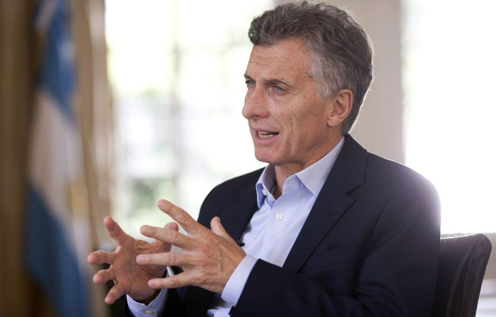 L'adoption du texte est une victoire politique pour le nouveau président Mauricio Macri, dont la coalition est en minorité dans les deux chambres du Congrès.