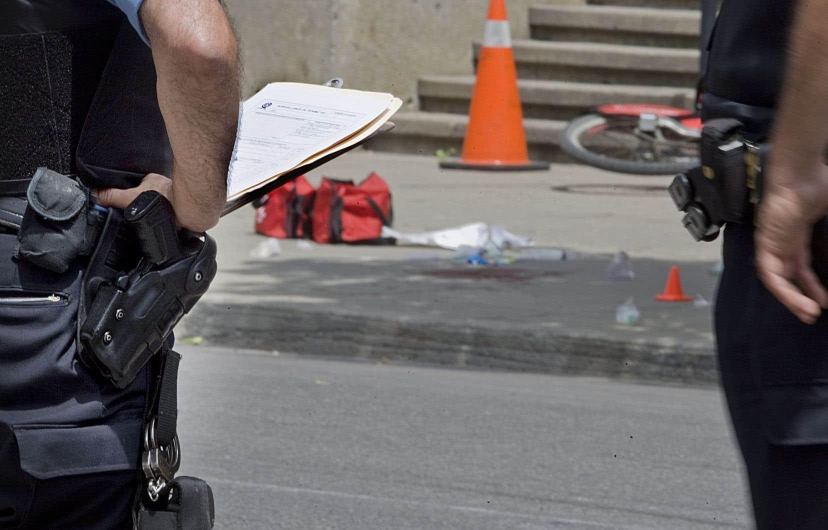 Dans les 143 cas examinés par le CRDS, les policiers ont ouvert le feu alors qu'ils étaient à une distance moyenne de 4,3 mètres de l'individu présentant « une menace de lésions corporelles graves ou mortelles ».