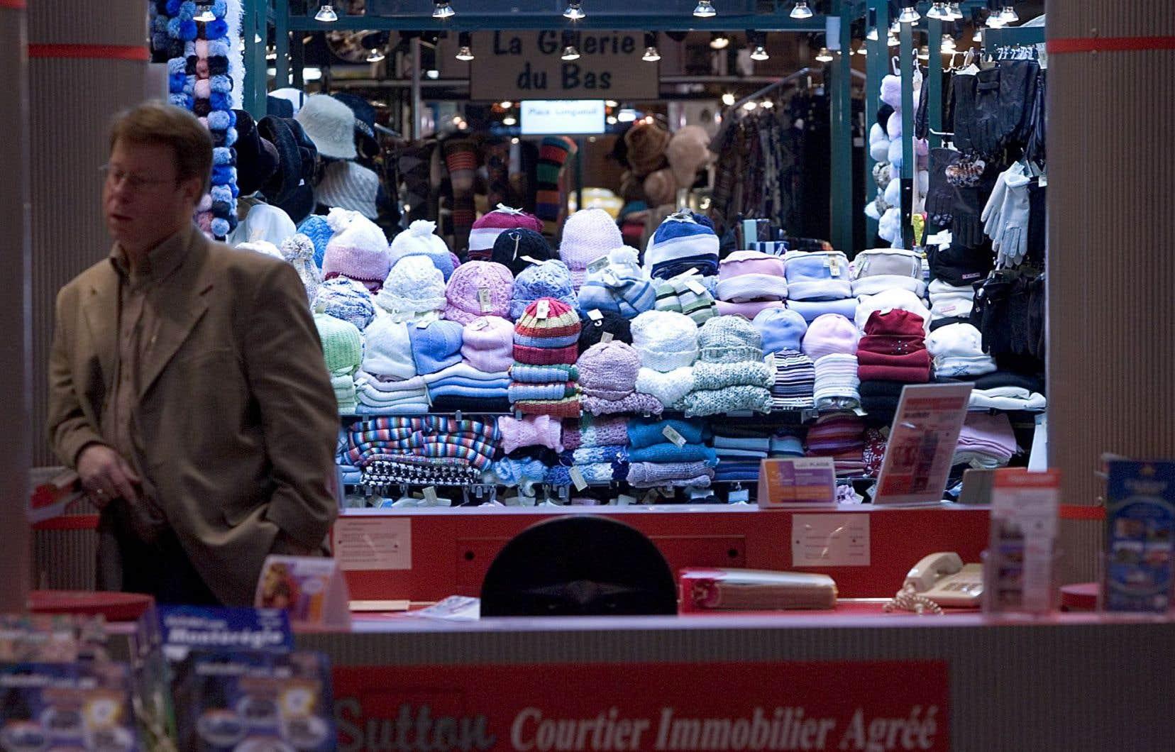 Des hausses notables ont été constatées dans le commerce de détail.