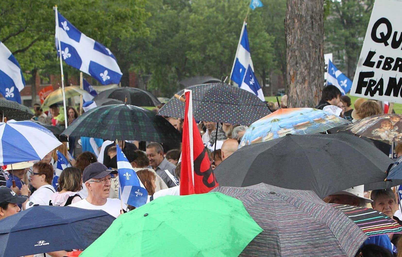 «Le Québec ne progressera sur le tortueux chemin de sa liberté que si les différentes franges du spectre nationaliste québécois travaillent ensemble», selon Jocelyn Caron.