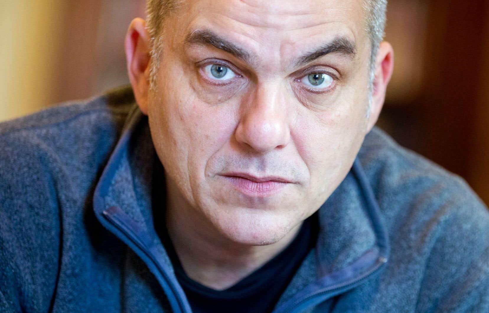 Le réalisateur français Nicolas Boukhrief
