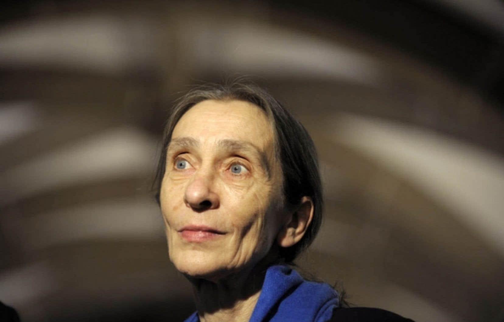 La chorégraphe Pina Bausch en octobre 2008, quelques mois avant sa mort.