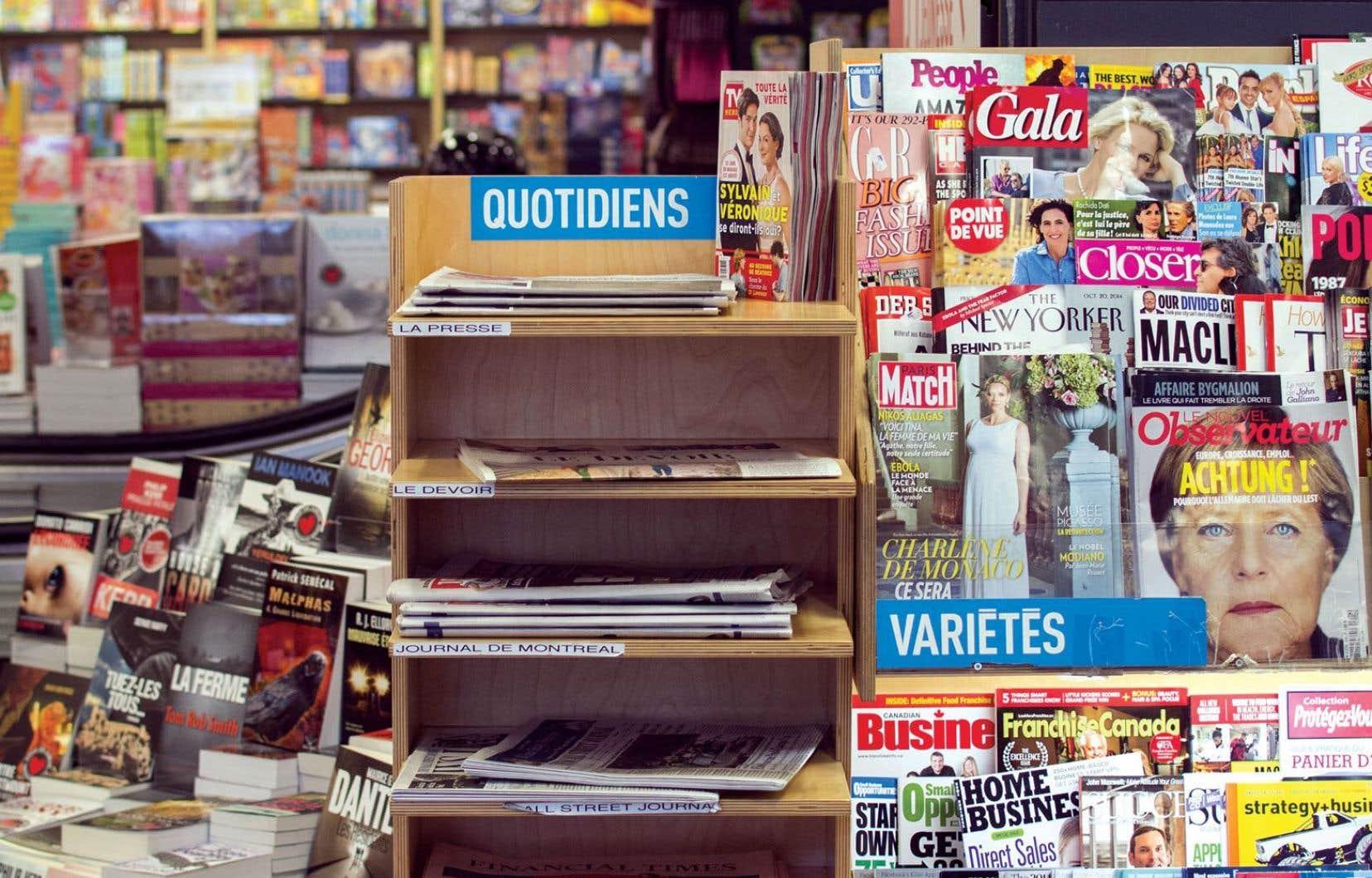 Environ 3000 magazines auront un nouveau distributeur.