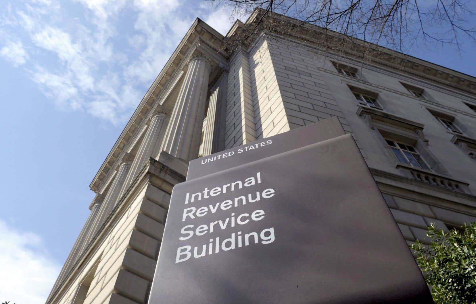 L'édifice du fisc américain à Washington