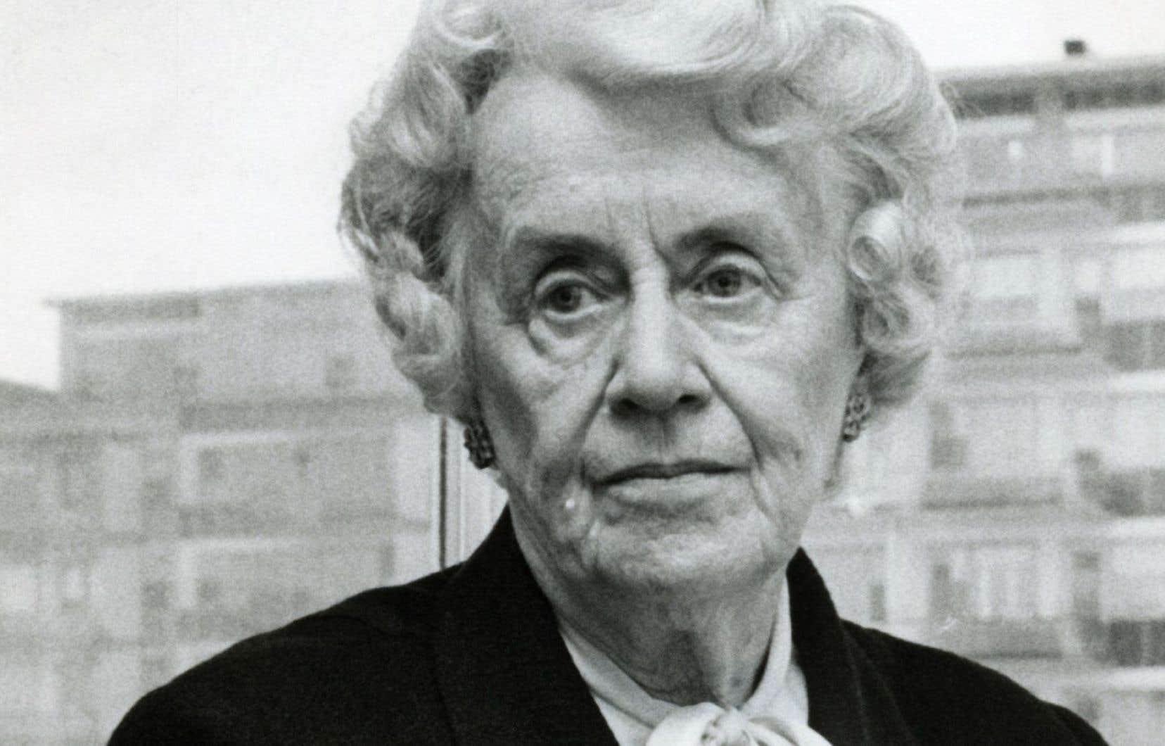 Thérèse Casgrain est l'une des pionnières du féminisme au Canada.