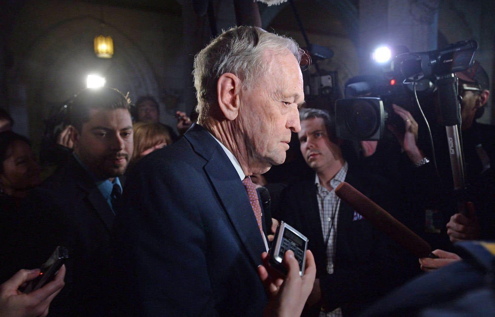 Jean Chrétien était de passage à Ottawa mardi.