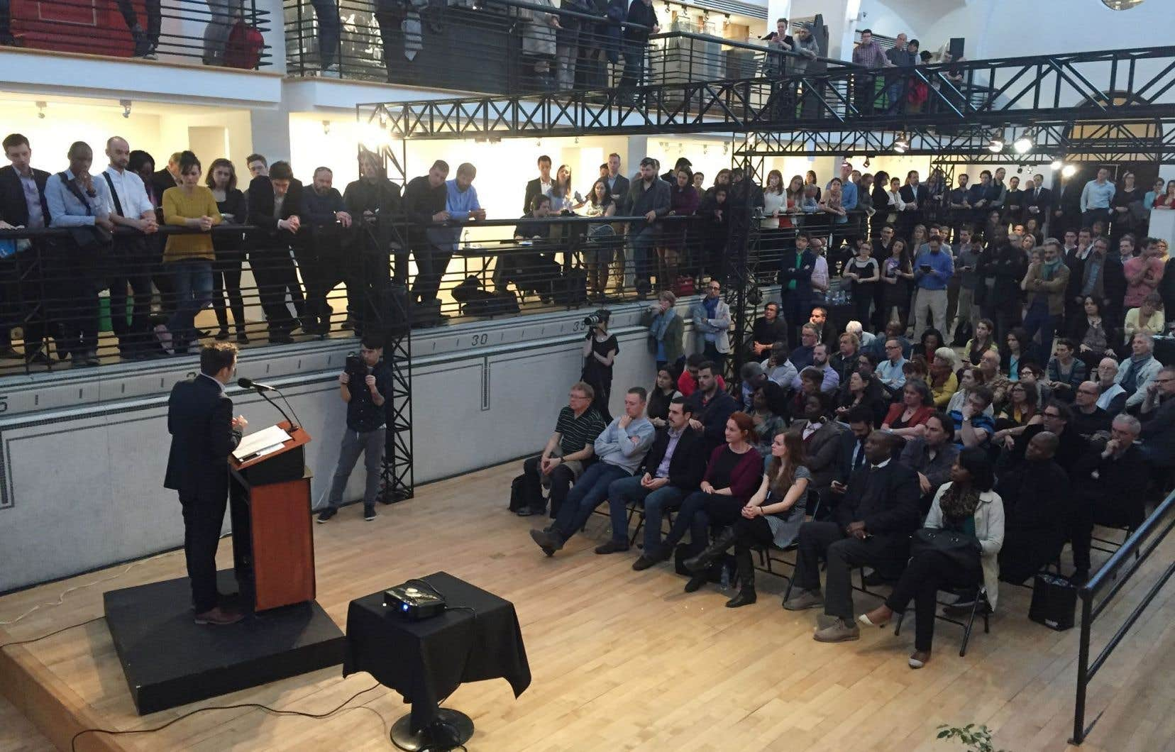 Paul Saint-Pierre Plamondon a dit espérer que 1000 sympathisants se donnent rendez-vous à l'automne pour un second lancement du mouvement.