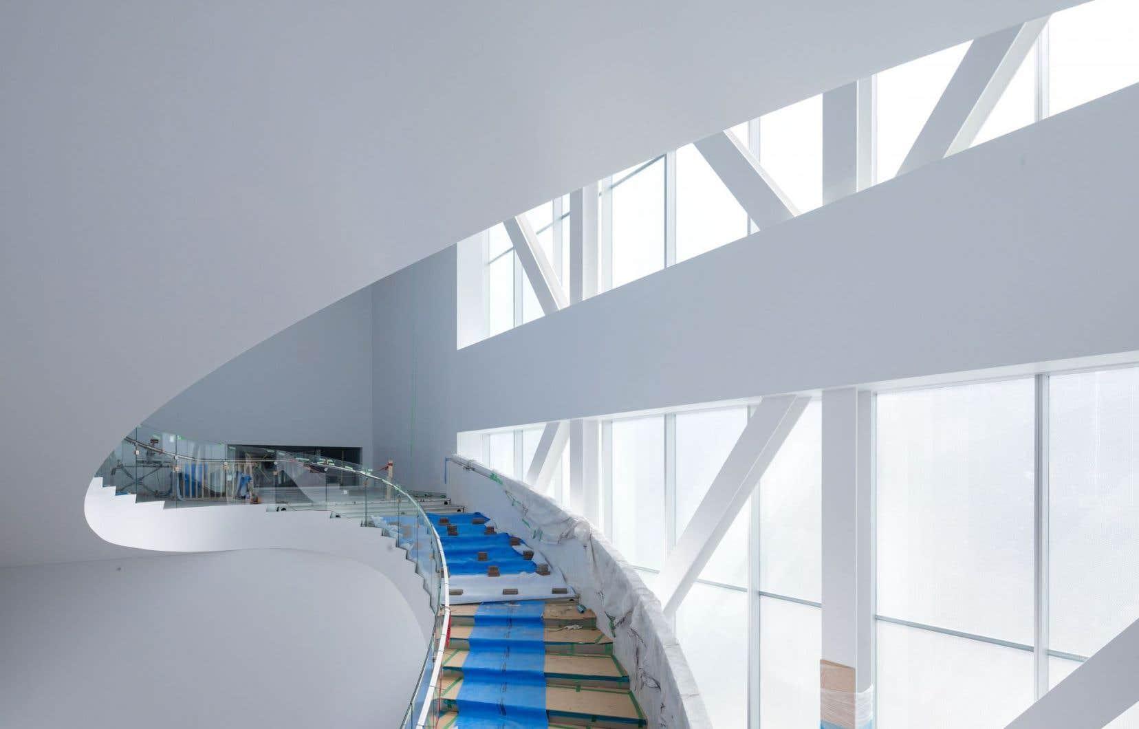 Le nouveau pavillon sera inauguré en juin.